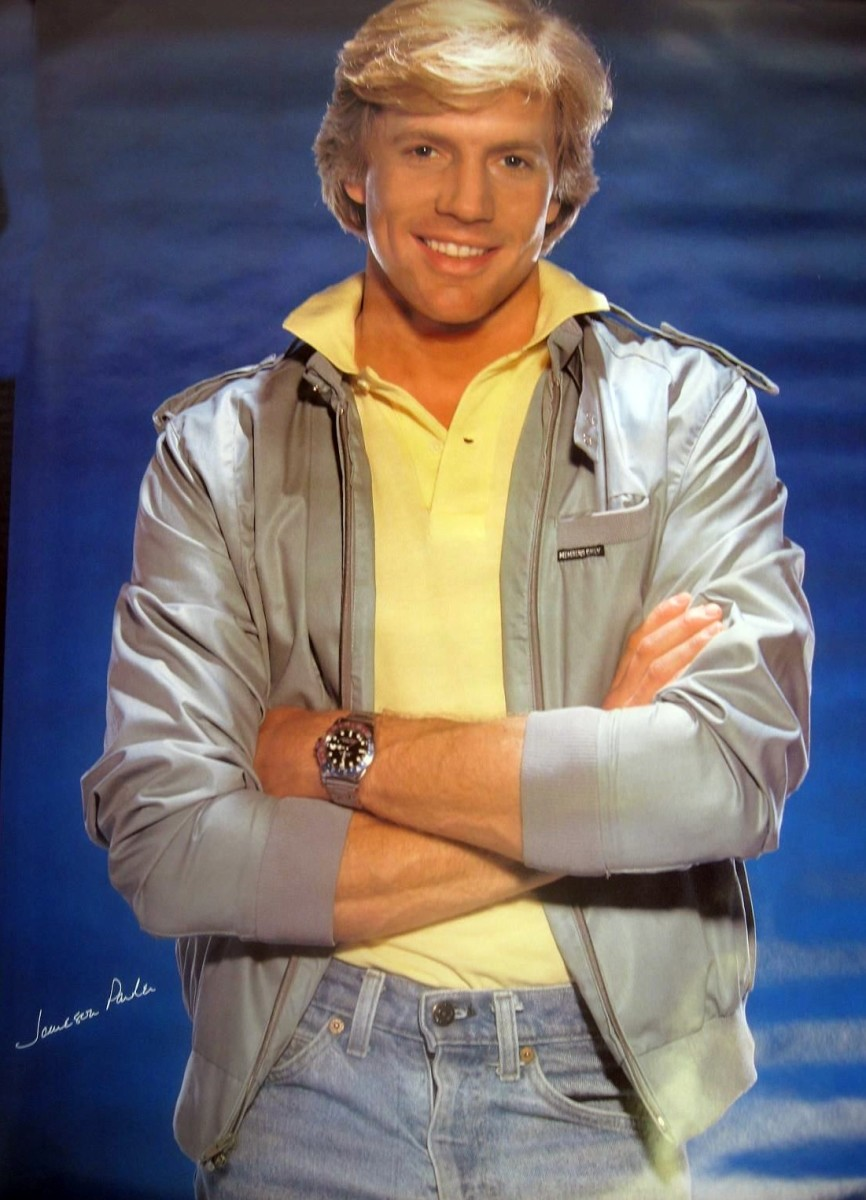 A 1983 poster of Jameson. He certainly was easy on the eyes, eh?