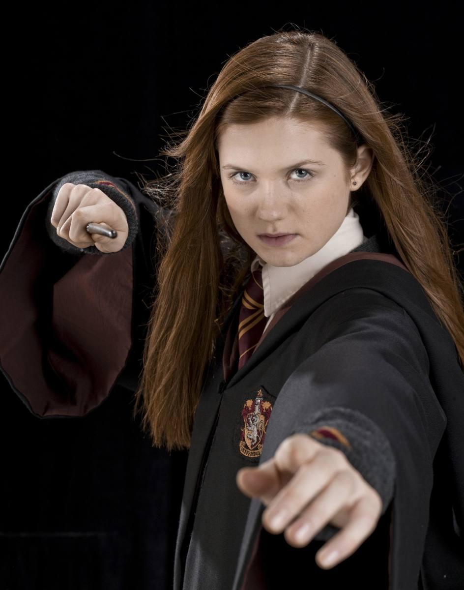 Ginny Weasley, played by Bonnie Wright
