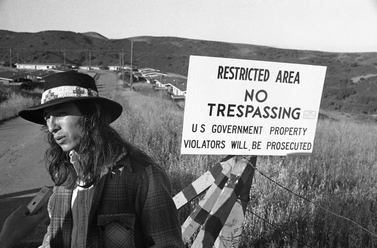 John Trudell on the road