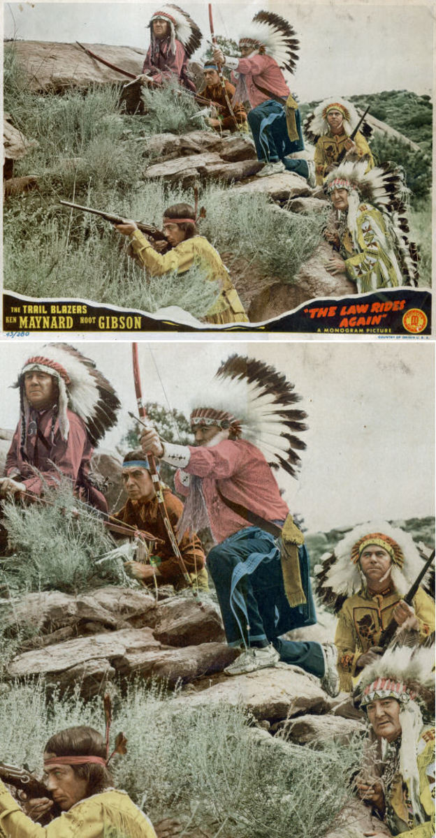 Chief Many Treaties (lower right)