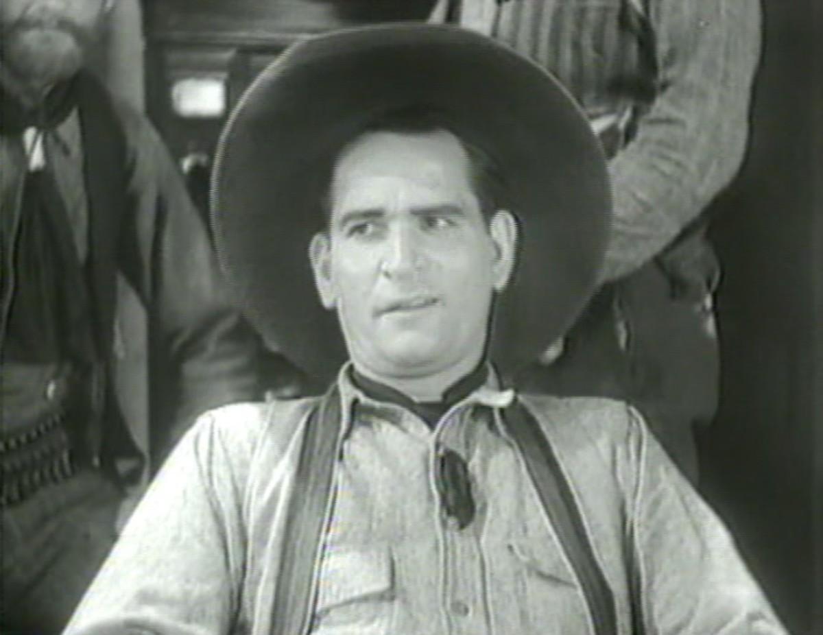 "Yakima Canutt in ""The Man from Utah"""
