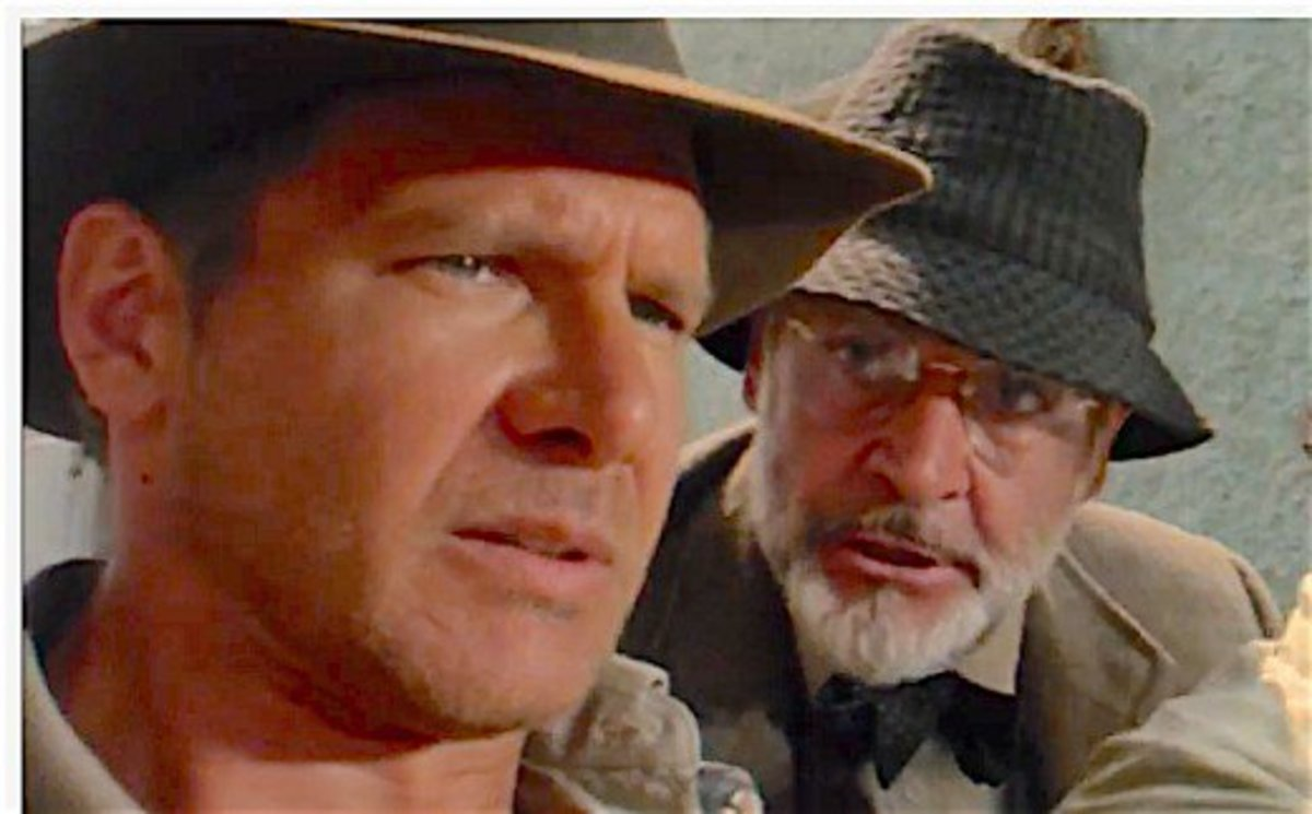 Sean Connery played Harrison Ford's father in Indiana Jones and the Last Crusade.