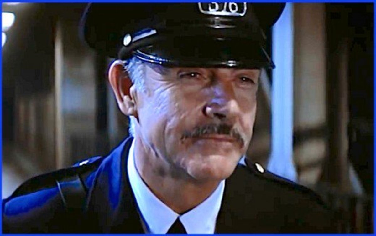 In his James Bond movies, Sean Connery played a spy.  In The Untouchables he played a Chicago cop.