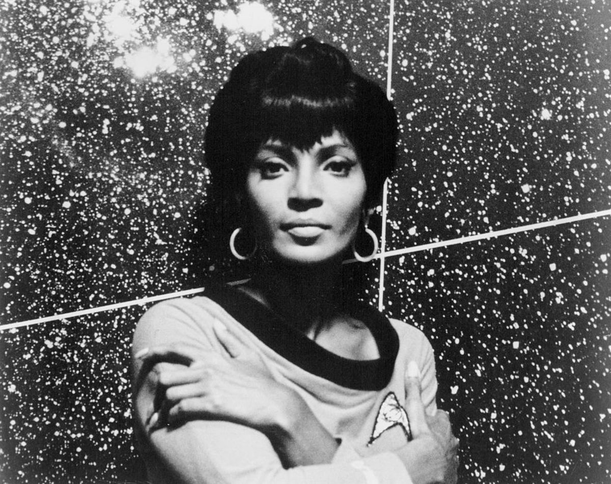 Lt. Uhura. I was very pleased to meet her!
