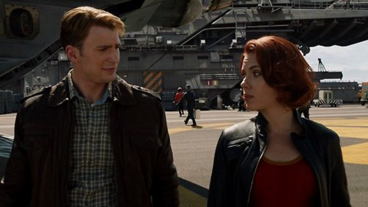 Steve and Natasha: the beginning of a beautiful friendship. (Screencap from The Avengers)