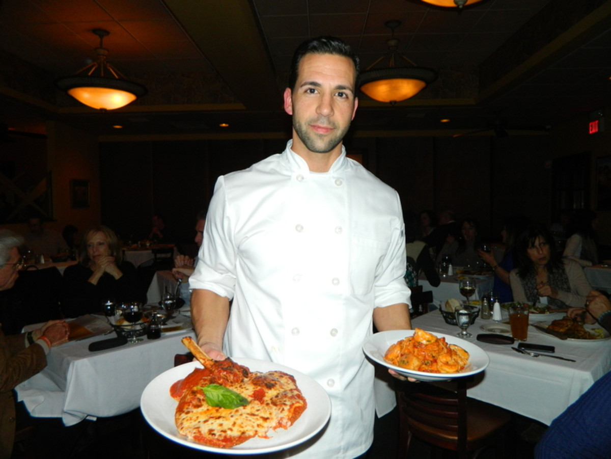 Anthony is now the executive chef at Cirella's Restaurant & Bar in New York.