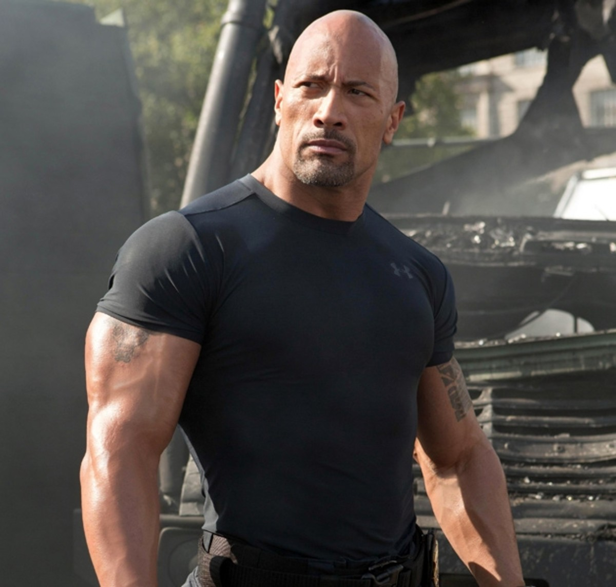 One of the highlights of this movie is seeing Dwayne Johnson play his usual self - with some unpredictability as far as his normalcy is concerned.