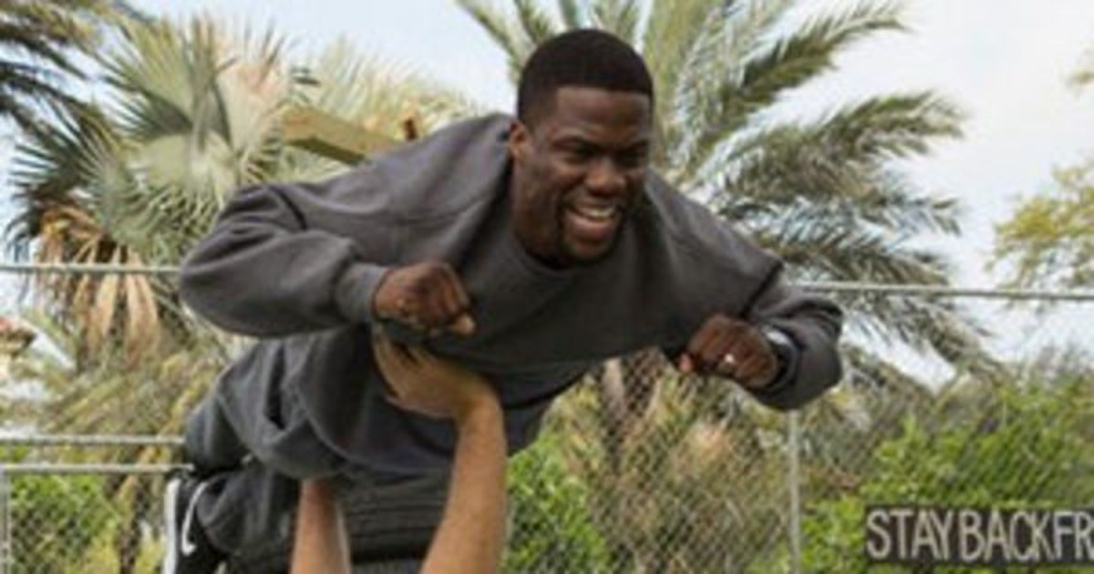 Kevin Hart plays a role considerably similar to the one he played in Get Hard.