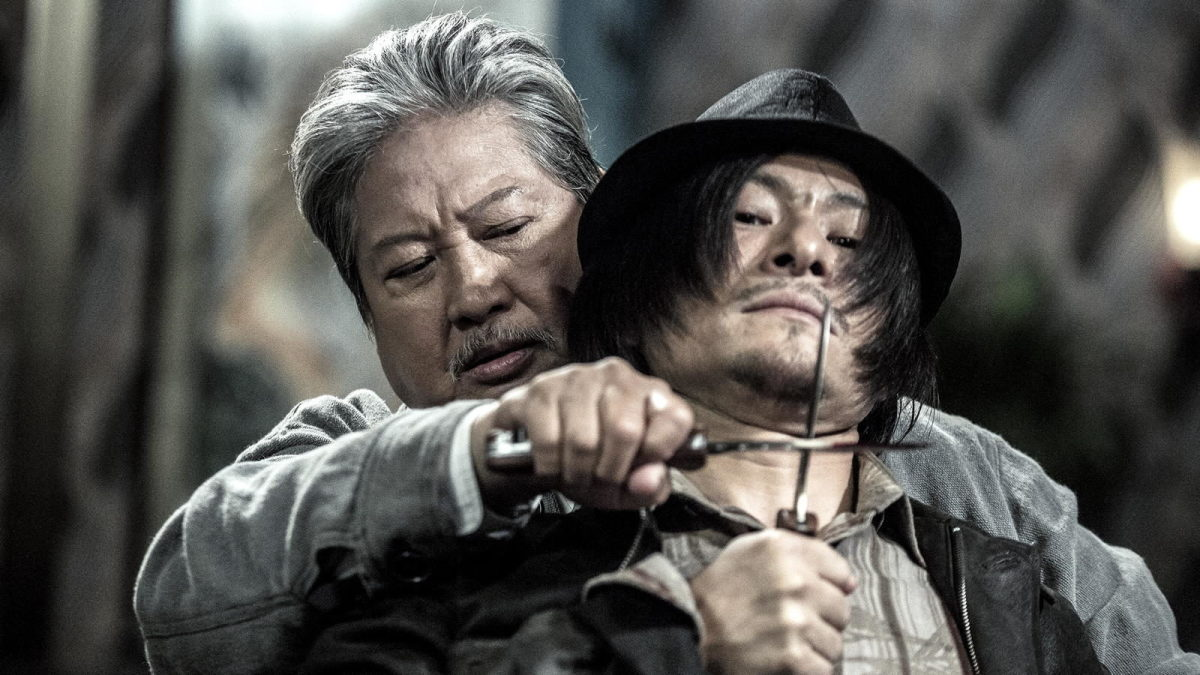 """Sammo Hung as Old Ding in """"The Bodyguard."""""""