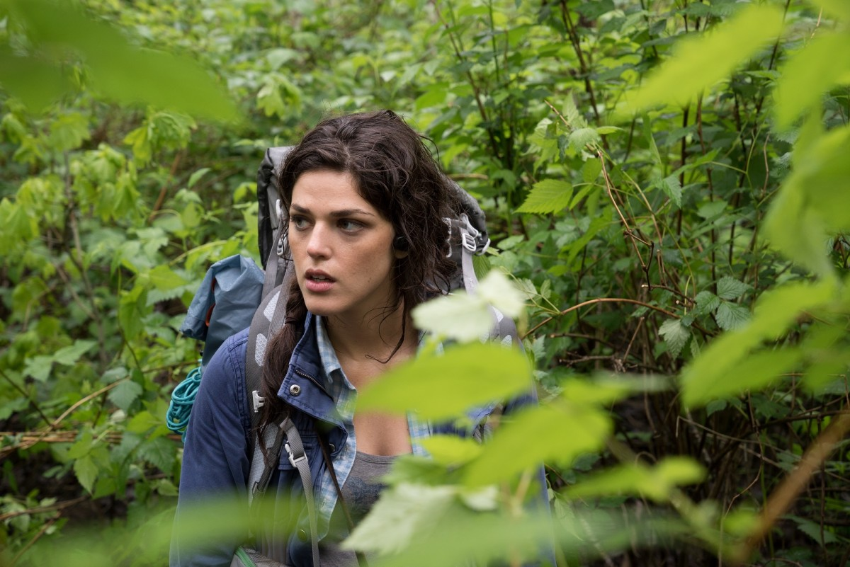 "Callie Hernandez as Lisa Arlington in ""Blair Witch."""