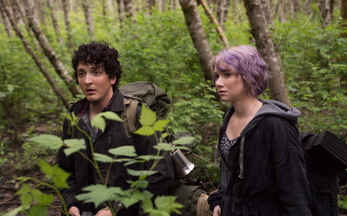 "Wes Robinson and Valorie Curry in ""Blair Witch."""