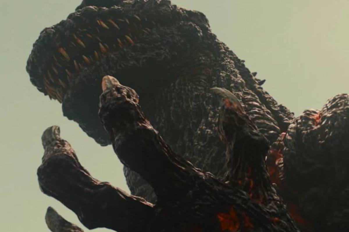 "The sexiness of the new Godzilla in ""Shin Godzilla."""