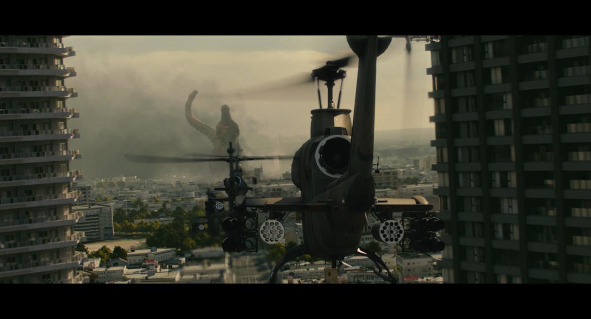 "Tokyo attempts to neutralize Godzilla in ""Shin Godzilla."""