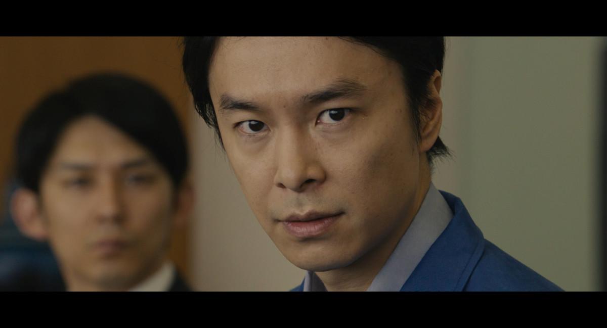 """Hiroki Hasegawa as Rando Yaguchi in """"Shin Godzilla."""""""