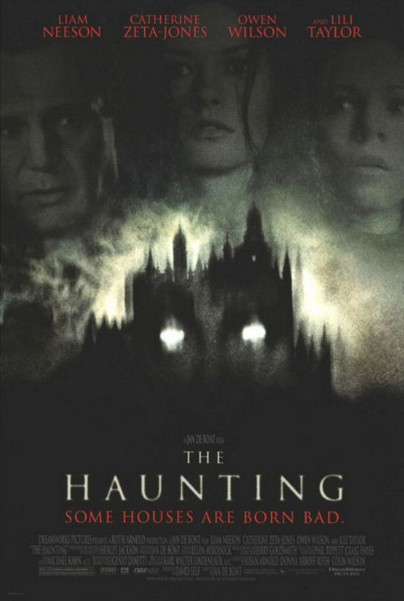Theatrical poster for The Haunting. Property of DreamWorks SKG