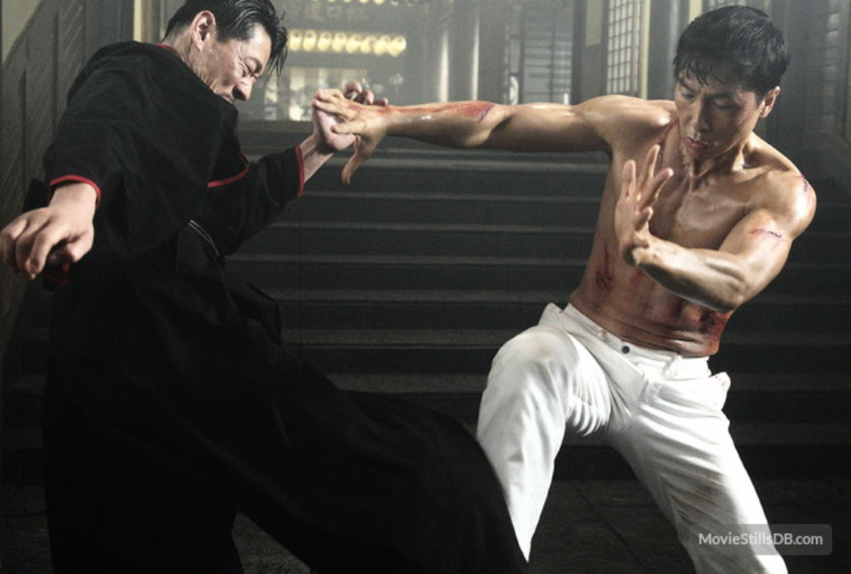 Donnie Yen is perhaps the best known Asian action star.  He is best known for his dedication to fight choreography and story.  He has even studied some MMA for some of his work.