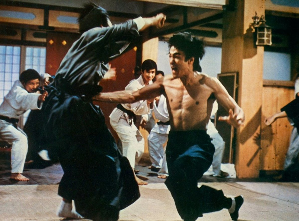 Bruce Lee introduced realism to martial arts cinema.  This was largely influenced by Japanese and American film.