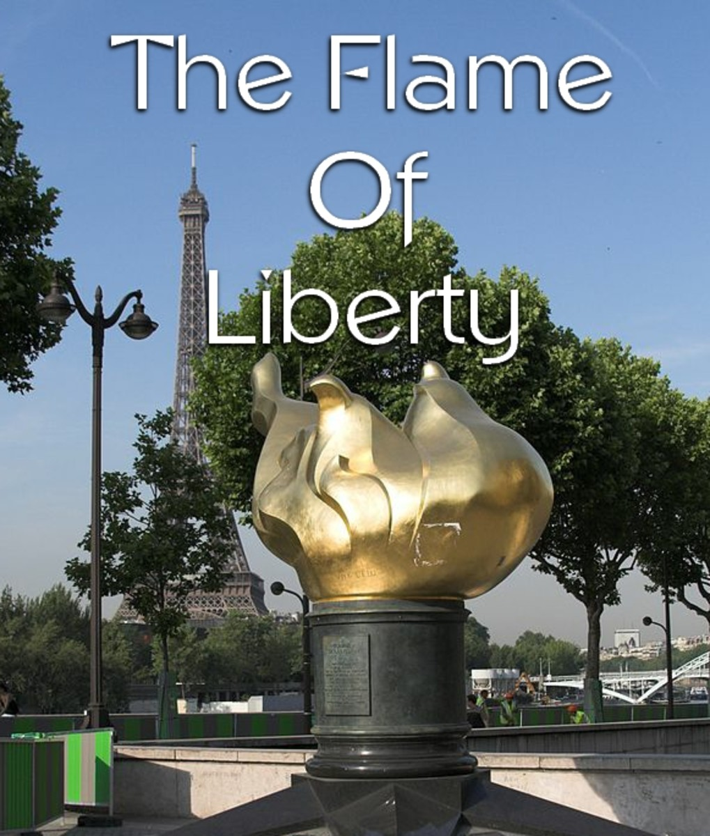 The Flame of Liberty Paris