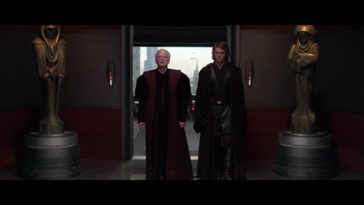 Anakin is turned not because of an ambition for power but because he is trying to save his family,  Sidious was a means to an end for this.