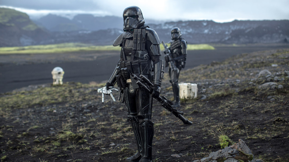 "Death squad stormtroopers from ""Rogue One: A Star Wars Story."""