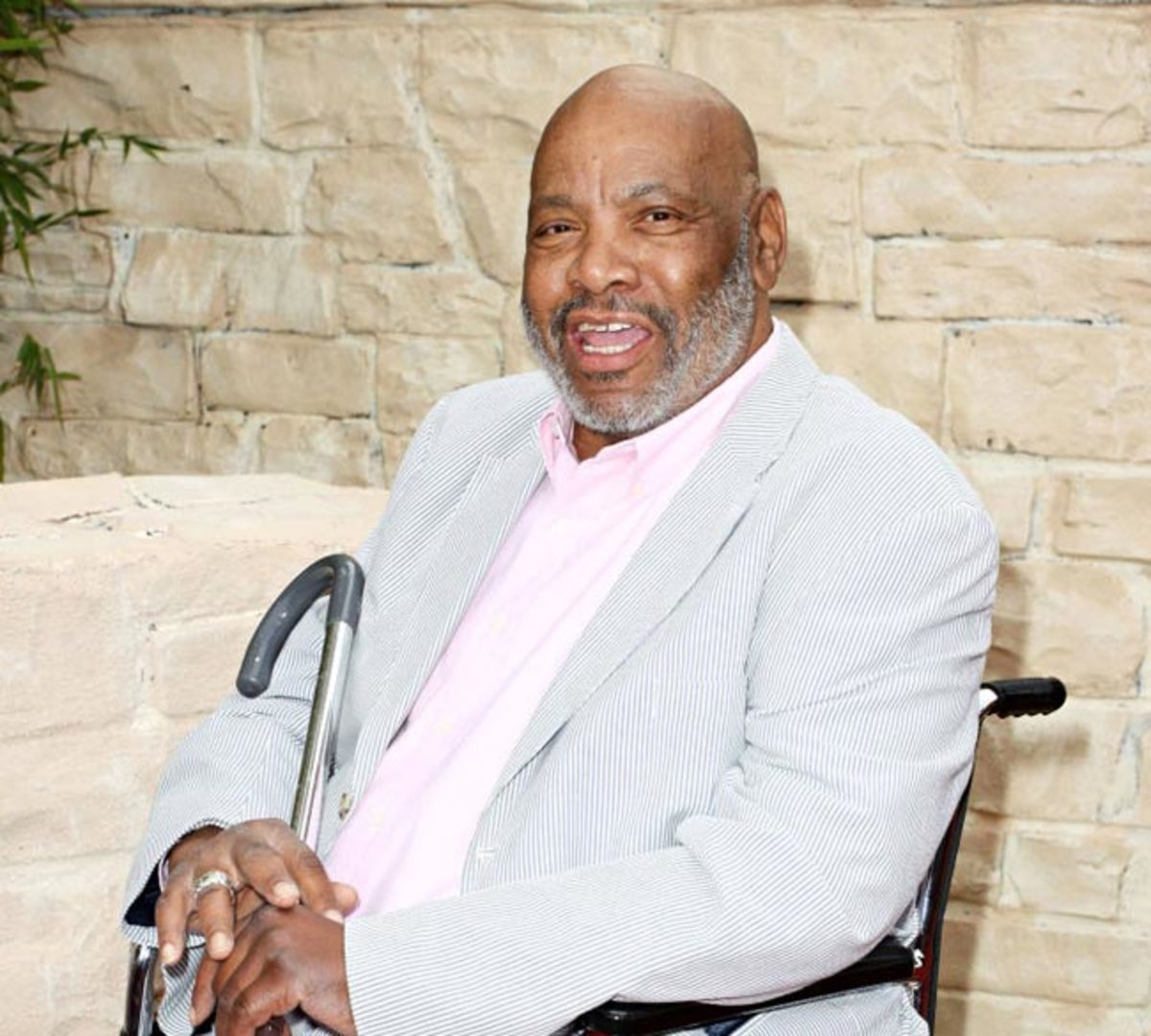 Avery before his death in 2013.  Rest in Peace, James Avery!