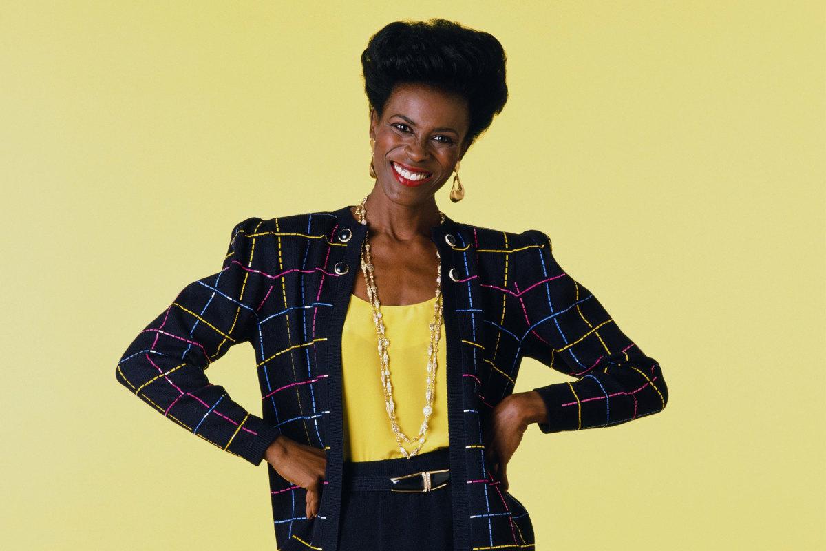Janet Hubert in 1990...