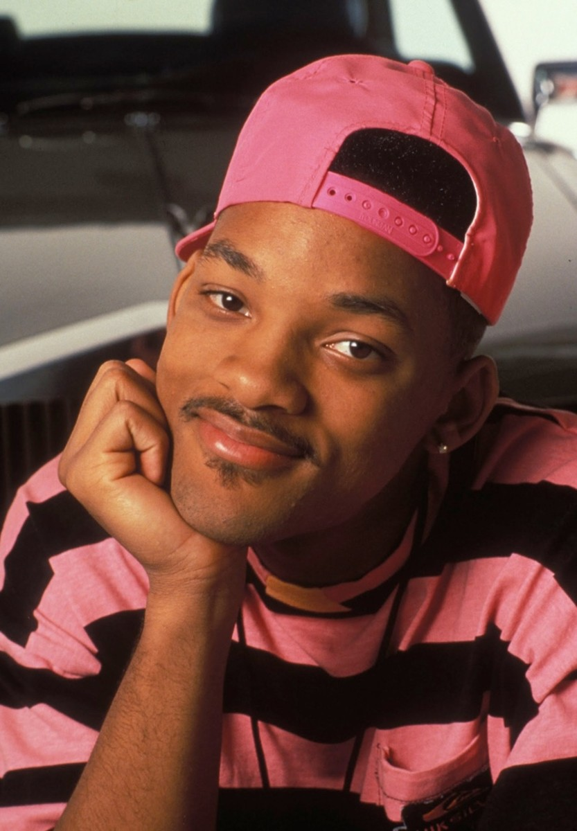 Will Smith in 1990...