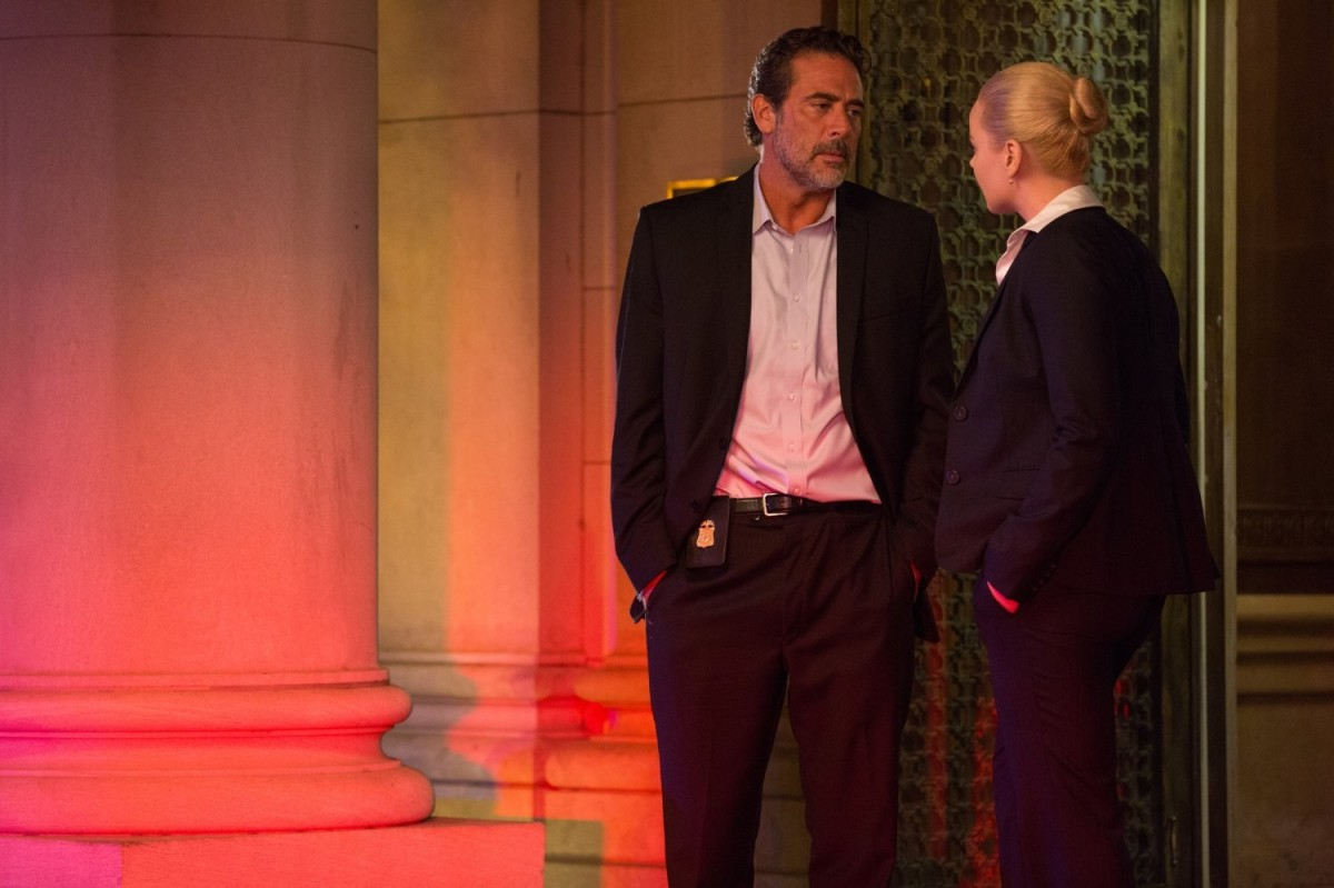 """Hands in pockets, the second sequel. Jeffrey Dean Morgan and Abbie Cornish star in """"Solace."""""""