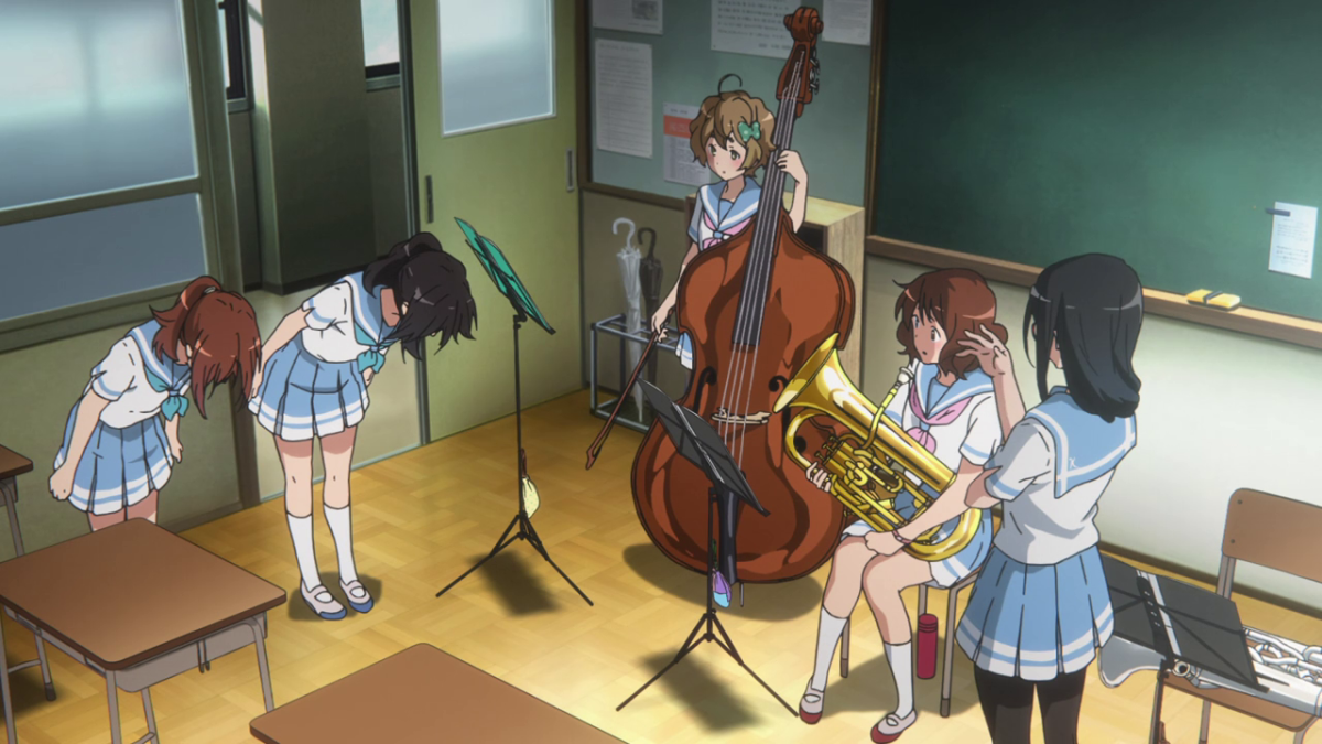 Natsuki pleads for Asuka to allow Nozomi back into the band.