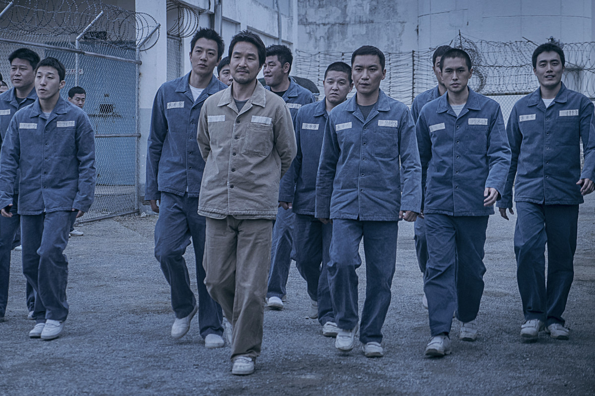 "Ik-ho's (Han Seok-kyu) influence is felt throughout the penitentiary in director Na Hyun's ""The Prison."""