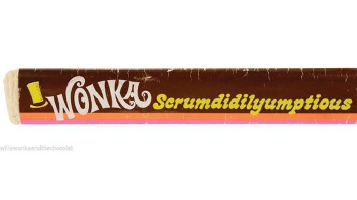 This wrapper, a prop used in the film, recently sold on Ebay for over $10,000.