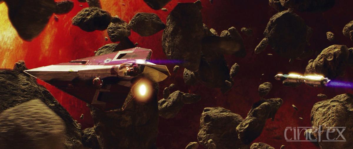 Episode 2's Asteroid Belt