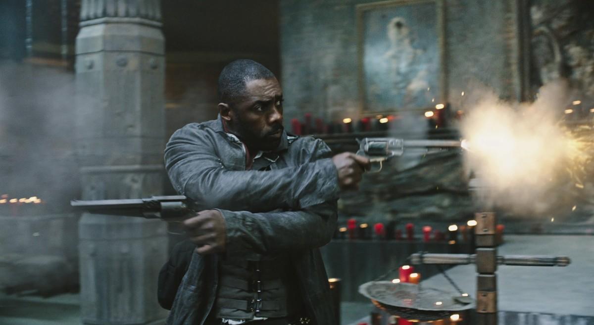 "Idris Elba as Roland Deschain/The Gunslinger in ""The Dark Tower."""