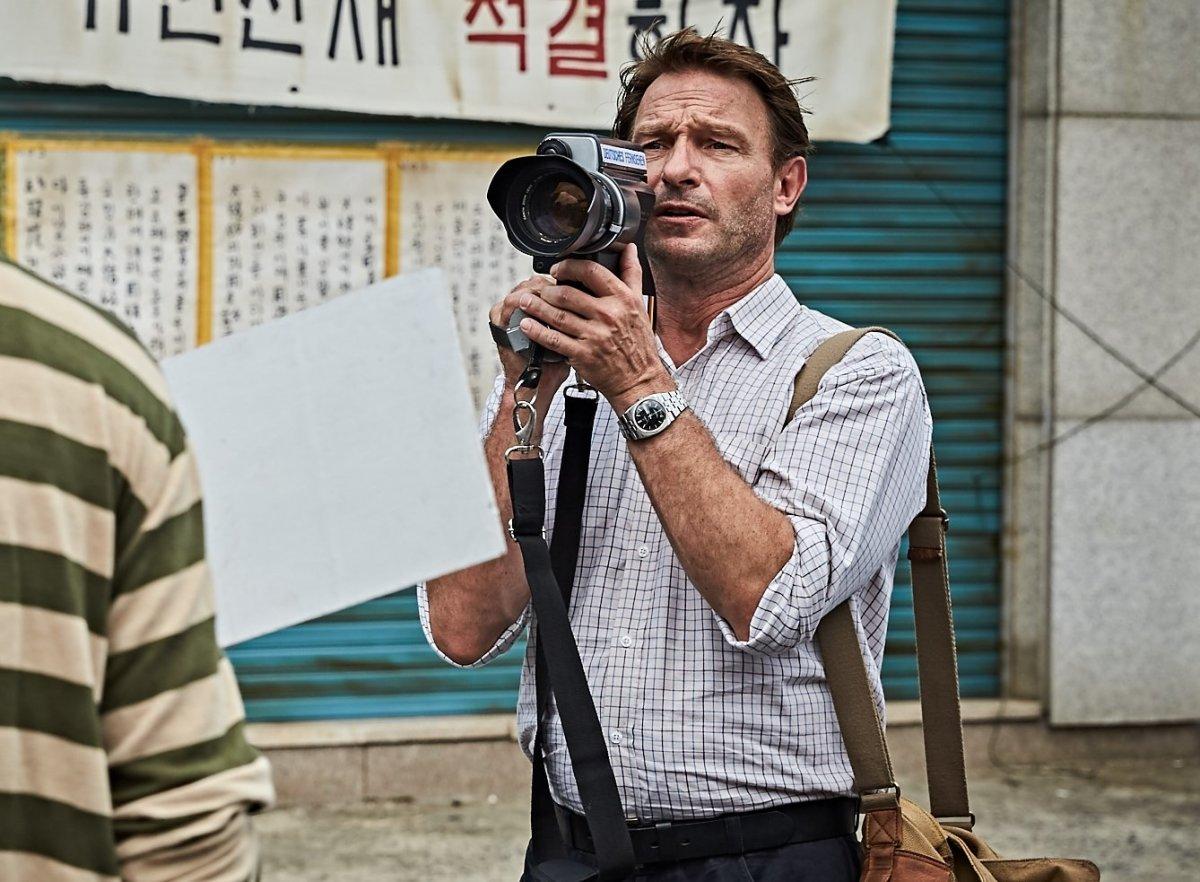 "Thomas Kretschmann as Peter in ""A Taxi Driver."""