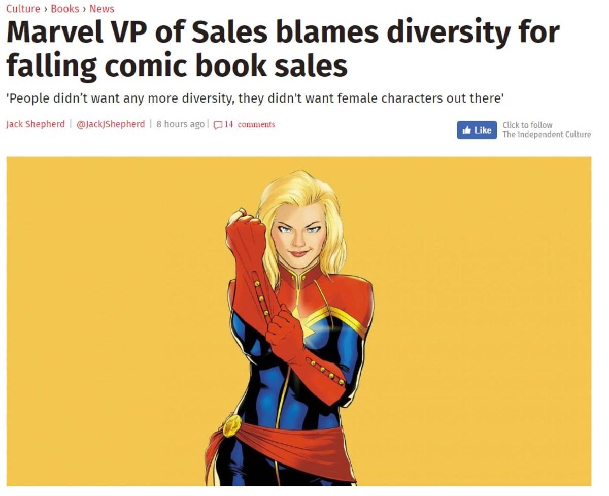 I'm not crying for ya, Marvel.