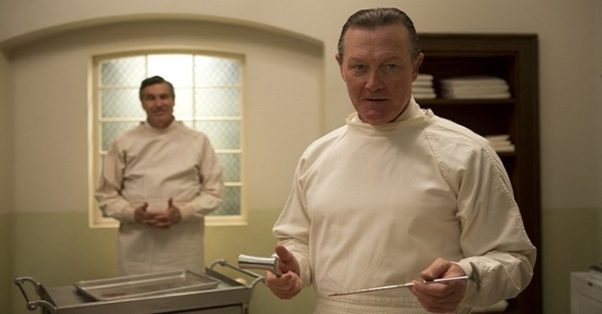 Scott's fear is of being lobotomized. How does one get tested for that phobia? #Lobotomy #Eloise #RobertPatrick