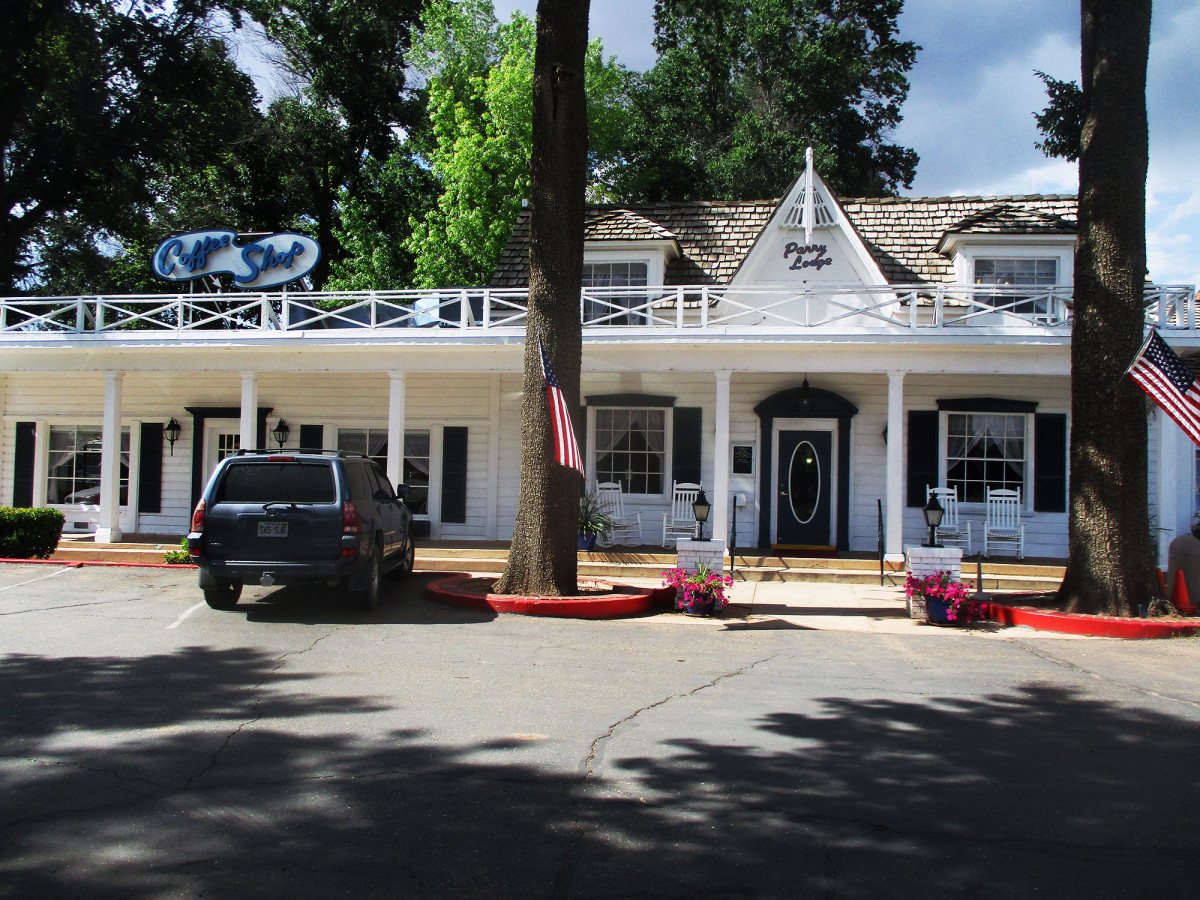 During the movie heydays, Parry's was place to stay, photo by author