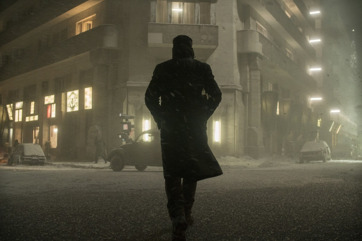 "Ryan Gosling as K in ""Blade Runner 2049."""