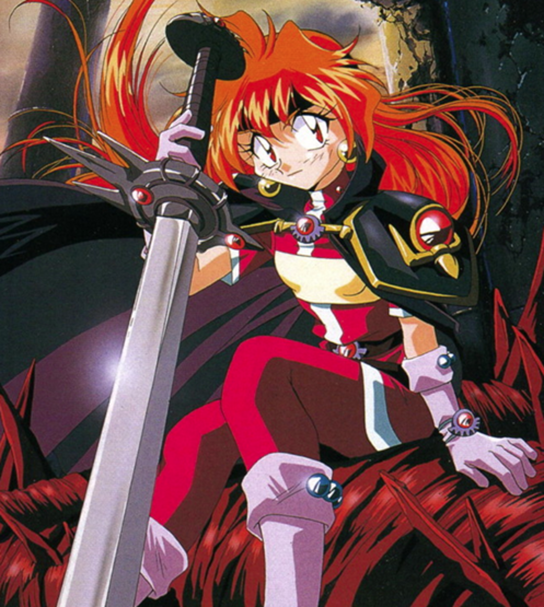 Lina Inverse of 'Slayers'.