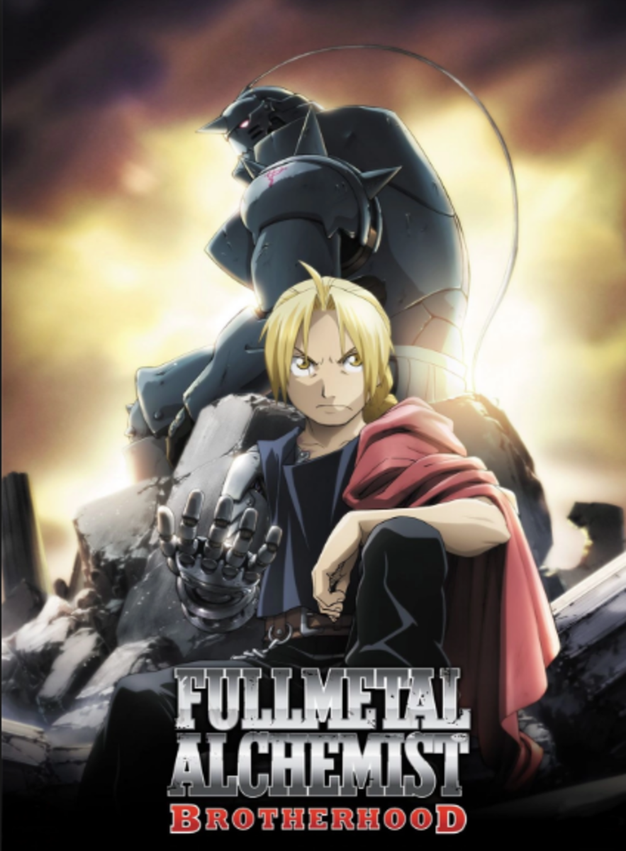 'Fullmetal Alchemist: Brotherhood.'