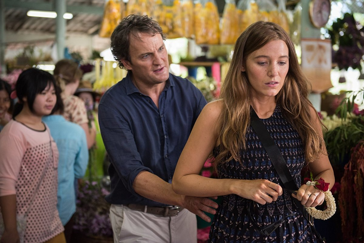 "Jason Clarke and Blake Lively portray the perfect facial expressions of a couple attempting to make babies in ""All I See Is You."""