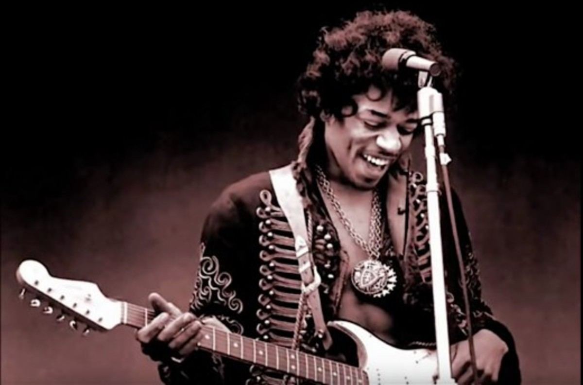 Jimi Hendrix, the Purple Haze paratrooper.