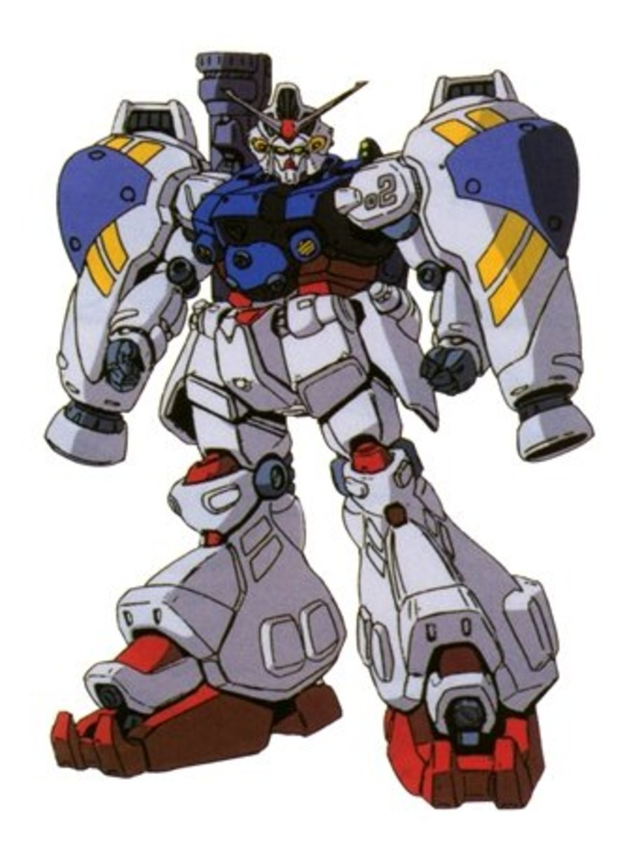 The only nuke-armed Gundam.