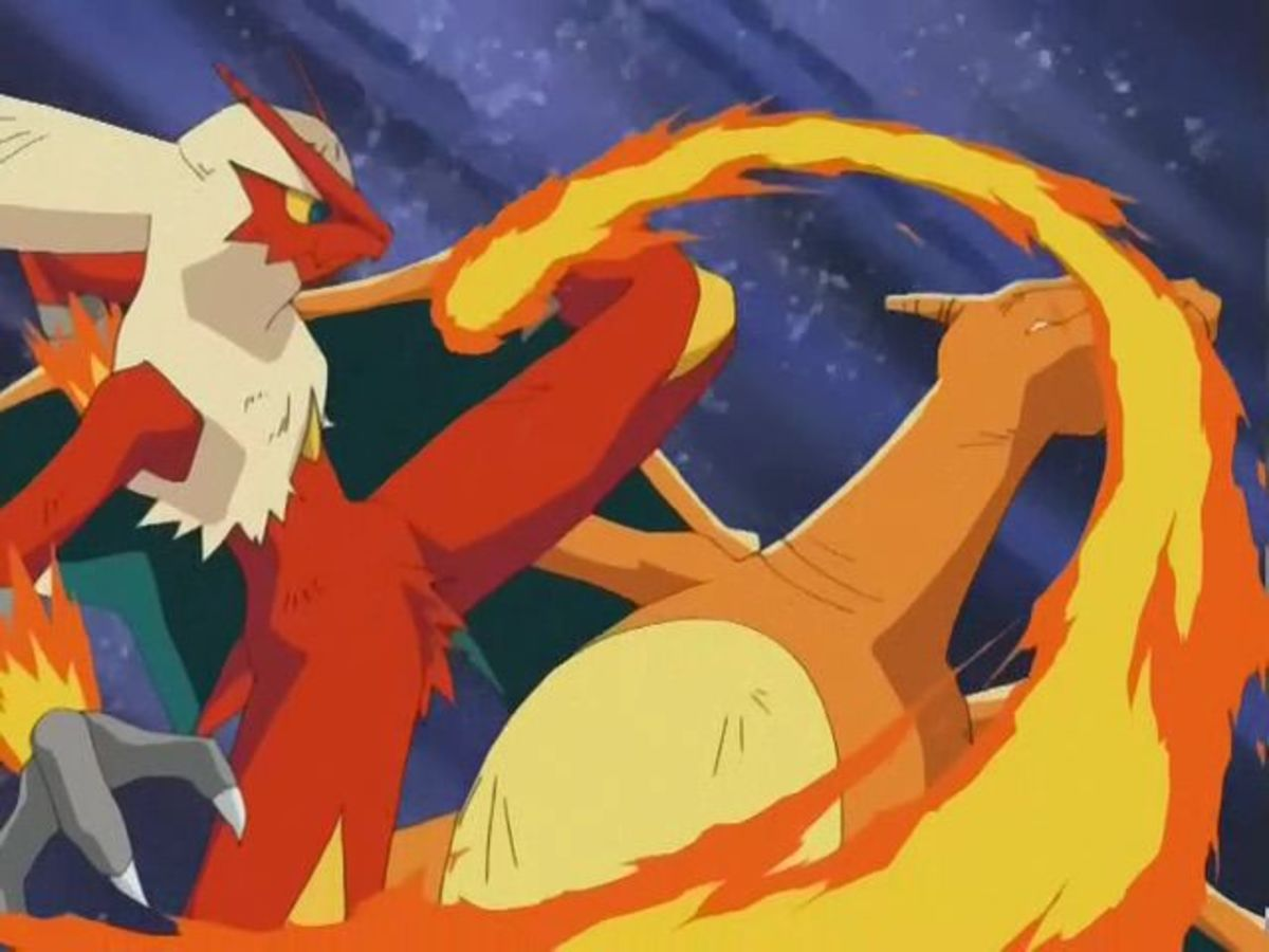 Blaziken Vs Charizard