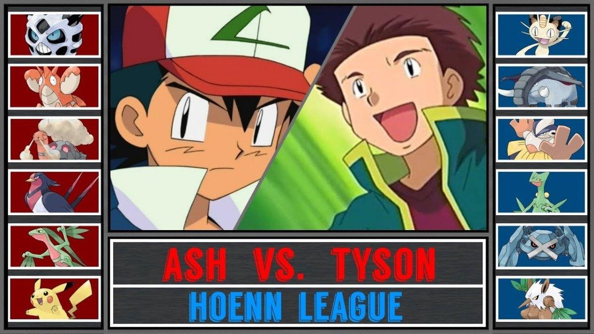 Ash Vs Tyson