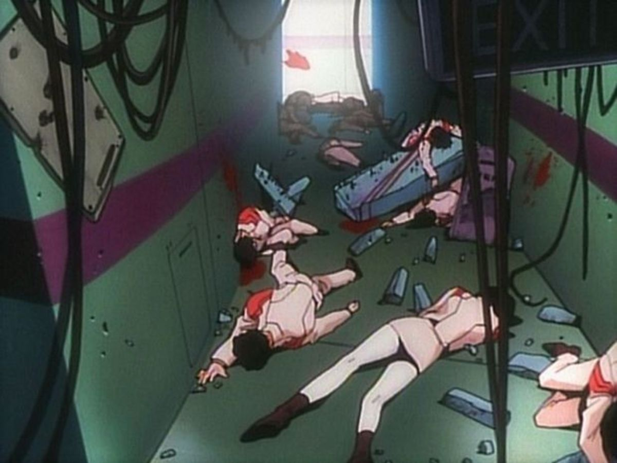 I still wonder why the staff of NERV was massacred.