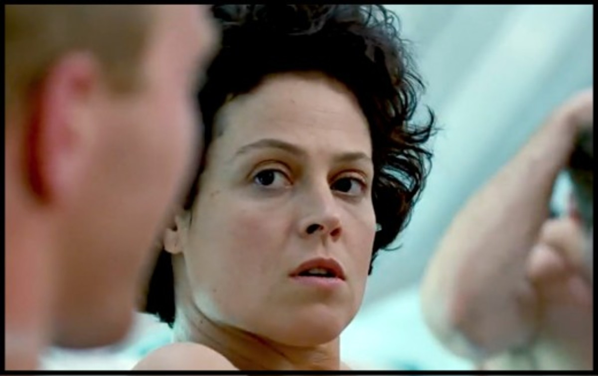 "Sigourney Weaver didn't get the Princess Leia role in ""Star Wars,"" but got to star in her own outer space movie as the heroine in James Cameron's ""Alien."""