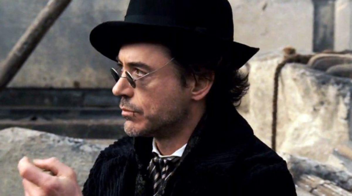 Robert Downey Jr. in Sherlock Holmes