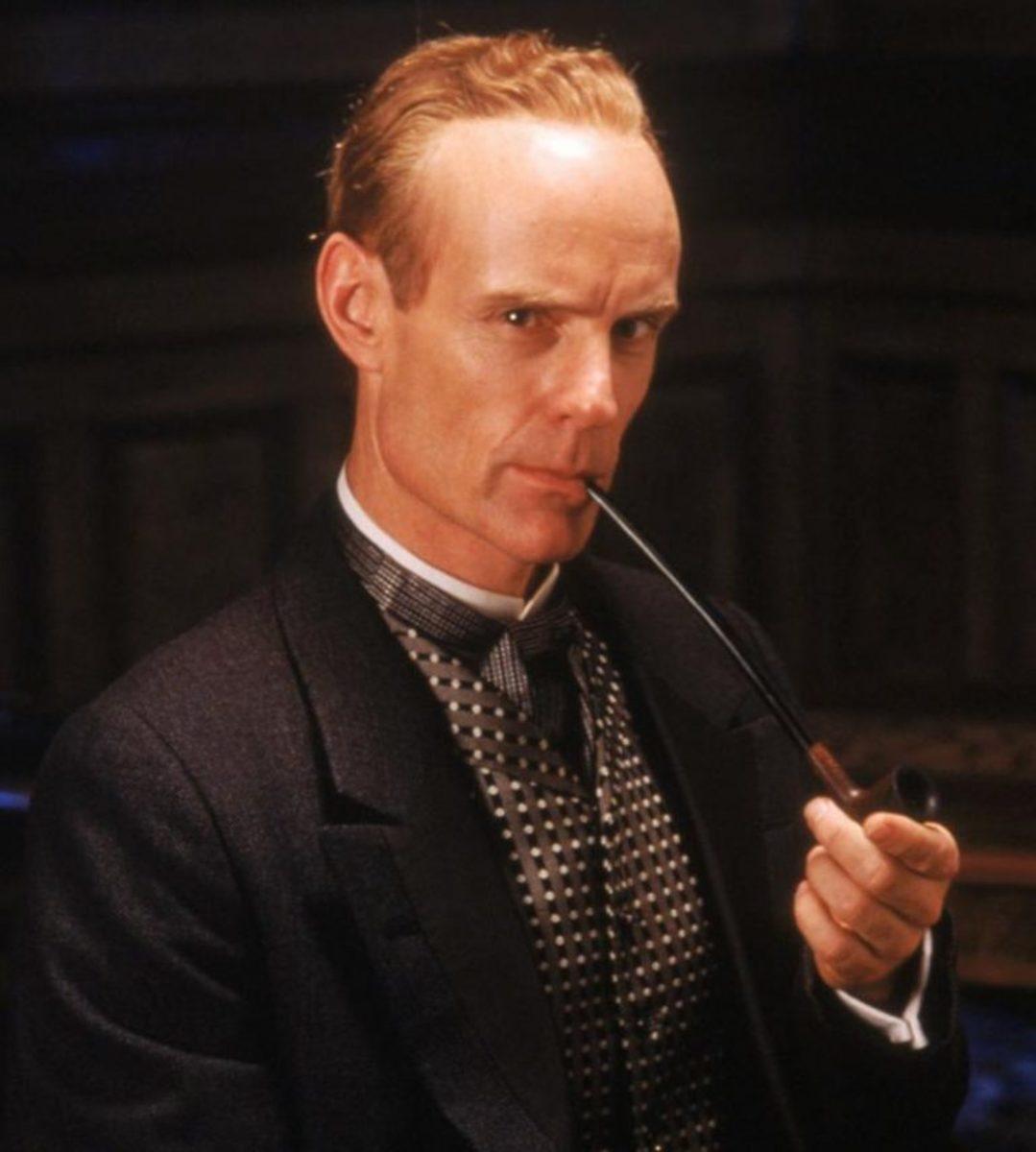Matt Frewer in the Hallmark Sherlock Holmes television specials.