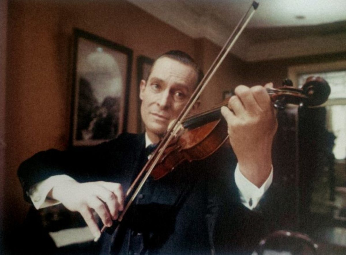 Jeremy Brett from the Granada Sherlock Holmes BBC television series